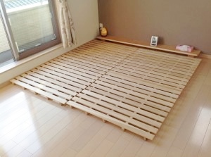 【キングサイズで家族向け】DIYすのこベッドの簡単な作り方