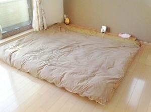 キングサイズの布団が敷けるDIYすのこベッドの作り方