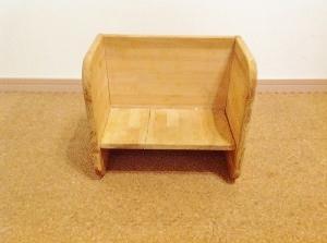 ひっくり返すと座面の高さが変わる子供用の「変化椅子」の作り方!