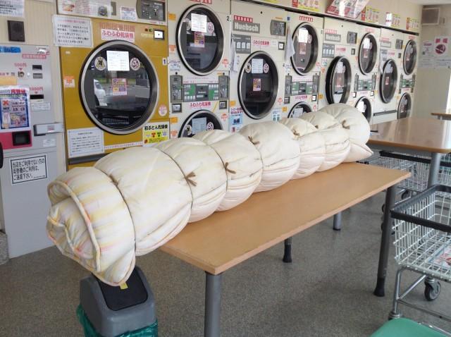 きれいさっぱり丸洗い!敷布団をコインランドリーで洗濯する方法