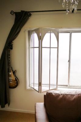 折窓枠まで自作した本格派の内窓