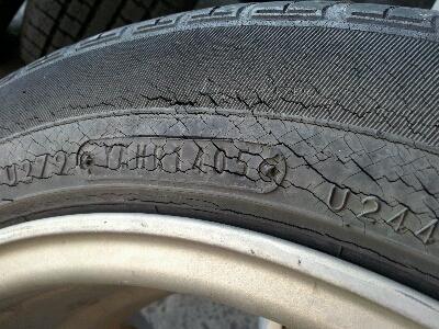 タイヤの劣化を防ぐ上手な保管方法