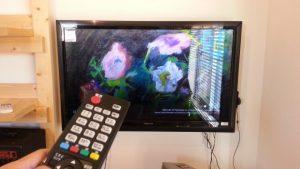 テレビのリモコン故障