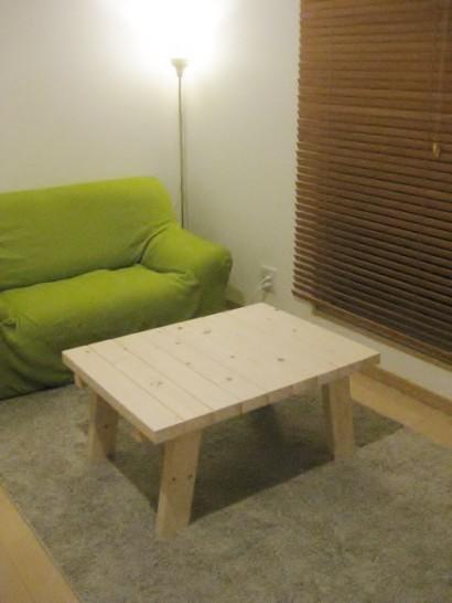 格安2000円、そして3時間で作るカフェ風DIYローテーブル