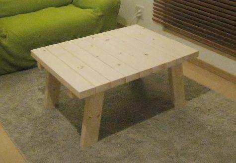 カフェ風DIYローテーブル
