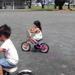 子供に自転車(補助輪なし)の乗り方を教える4つの練習ポイント
