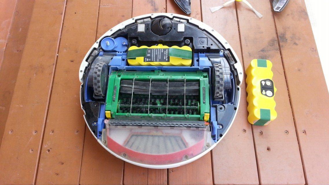ルンバ2回目の互換バッテリー交換