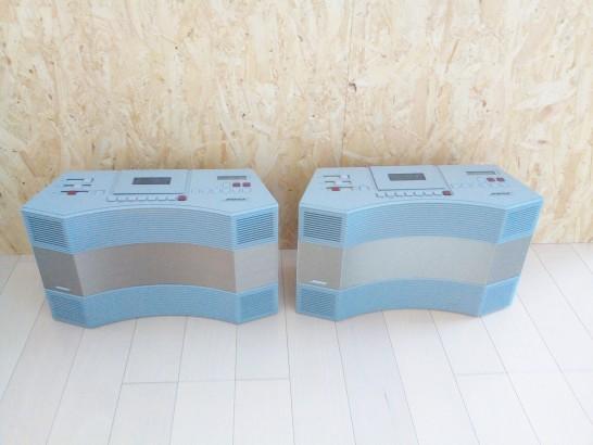 レストアの音質を比べるために2台用意したAW-1