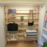 2×4材を組み合わせて作るおしゃれなDIY壁面収納棚