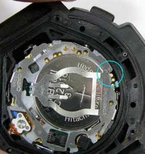 腕時計のリセットの方法