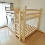 【予算2万円】2×4材で作るダブルサイズの二段ベット