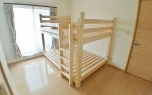 【予算2万円】2×4材で作るおしゃれなダブルサイズの二段ベット
