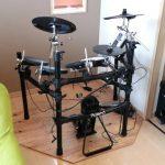 【ドラム初心者】中古で買った電子ドラムで練習&ライブ使用する方法