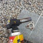 【初心者向け】ガスバーナーでアルミを溶接(ロウ付け)する方法