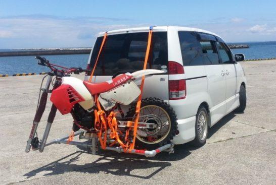 自作バイクヒッチキャリアの作り方