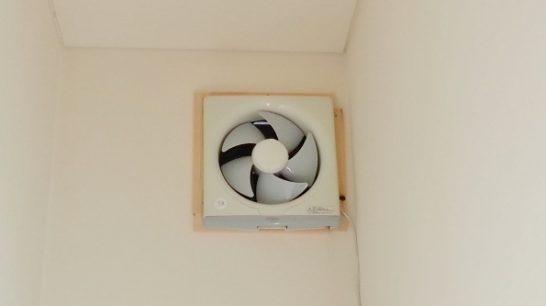 洗剤を使う前に換気扇を回す