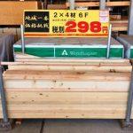 【DIY木材】2×4(ツーバイフォー)材の買い方とDIY実例まとめ