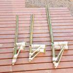 【保存版】裸足で乗れる竹馬の作り方