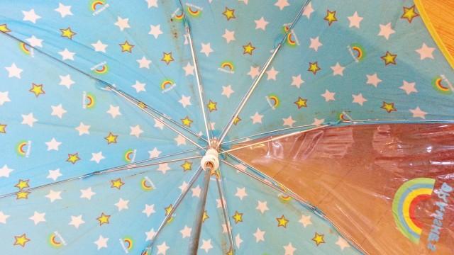 傘の骨折れ修理は完了