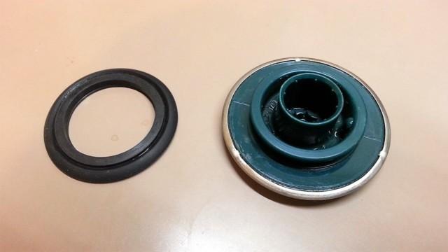 お風呂の排水栓を分解