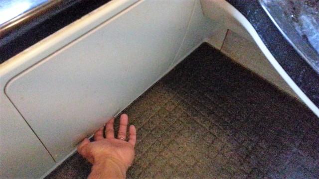 ユニットバスの点検窓カバー