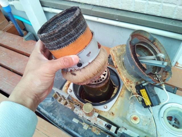 石油ストーブの替芯を自分で交換する方法
