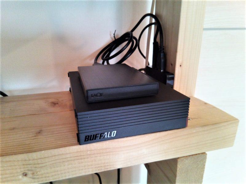 録画用HDDを増設