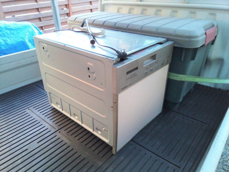ビルトイン食洗機を粗大ごみで処分