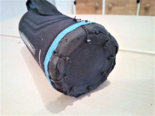 小学生の水筒カバー破れ補修