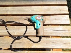 ウッドデッキを作るために使った電動ドライバー